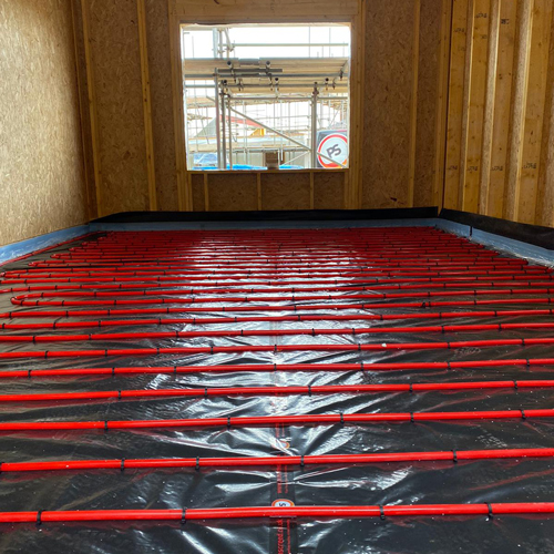 proscreed heating element install 2