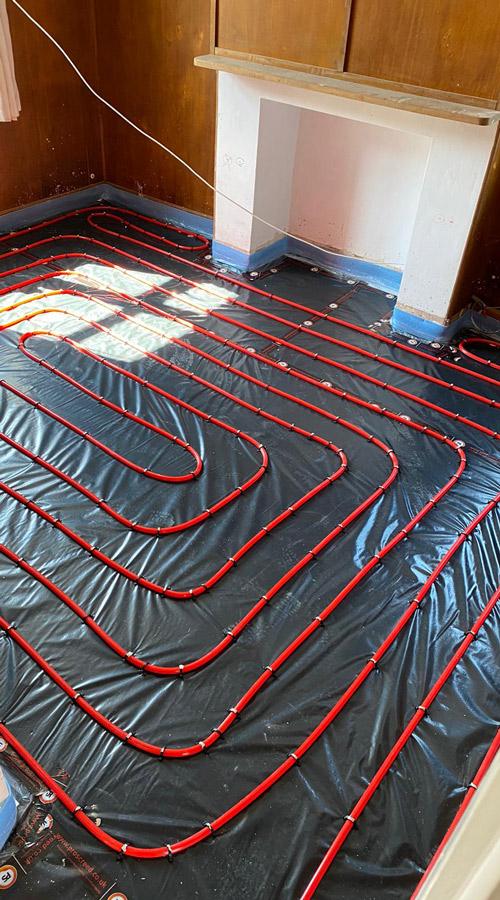 polypipe underfloor heating