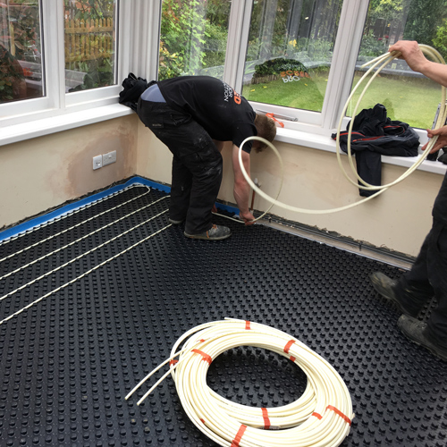 Pro Screed laser spiders